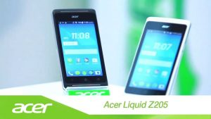 Resetar Android Acer Liquid Z205